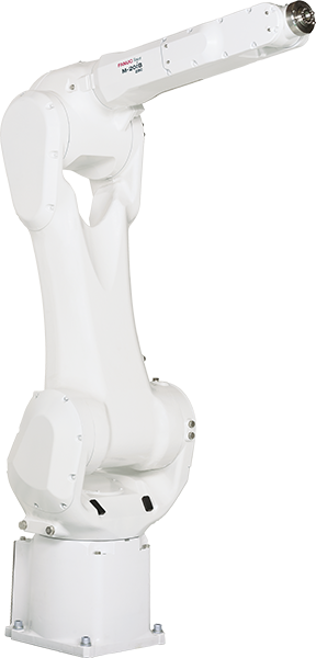 The M-20iB/25 is a small material handling robot with a payload capacity of 25KG.