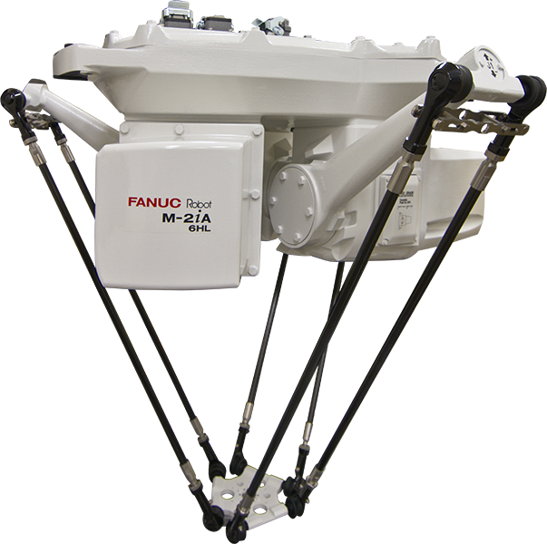 The FANUC M-2iA robot is a high-speed picking and assembly robot. Six models are available to meet the needs of multiple space requirements.