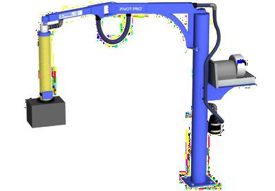 3D CAD model of Gorbel Pivot Pro Vacuum Lift