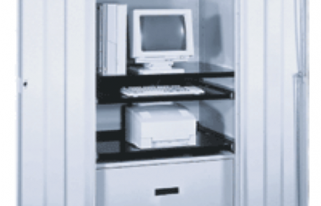 Computer storage mobile cabinet