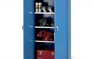 Industrial storage cabinet