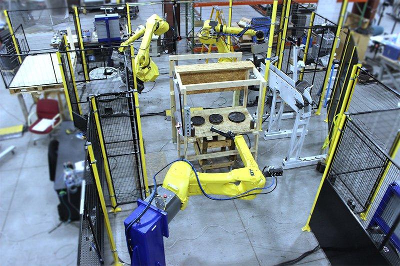 FANUC M20iB Forging Robot